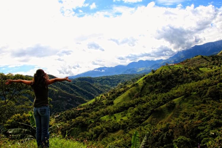 Panoramic at Cundinamarca, Colombia